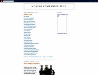 movingcompaniesonline.blogspot.com screenshot