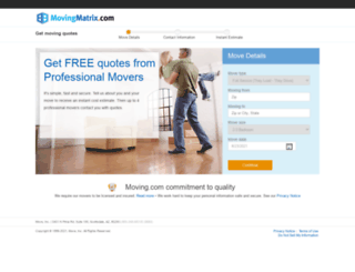 movingmatrix.com screenshot