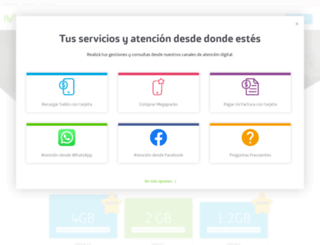 movistar.com.ni screenshot