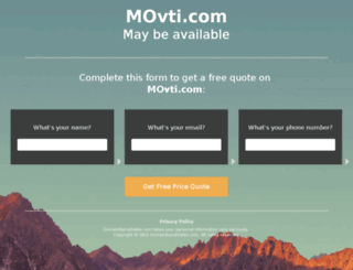 movti.com screenshot