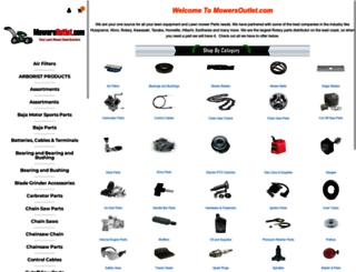 mowersoutlet.com screenshot