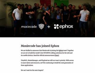 moxiecode.com screenshot