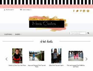 moxiecouture.com screenshot