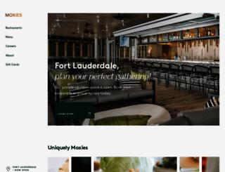 moxies.ca screenshot