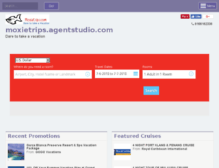 moxietrips.agentstudio.com screenshot