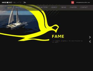 moxieyachts.com screenshot