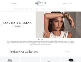 moyerfinejewelers.com screenshot