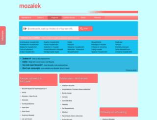 mozaiek.startkabel.nl screenshot