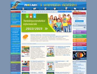 mozaik.info.hu screenshot