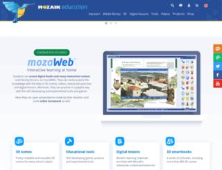 mozalearn.com screenshot
