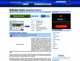 mozilla-firefox.findmysoft.com screenshot