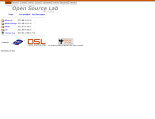 mozilla.osuosl.org screenshot