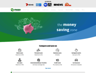 mozo.com.au screenshot