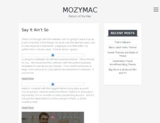 mozymac.com screenshot