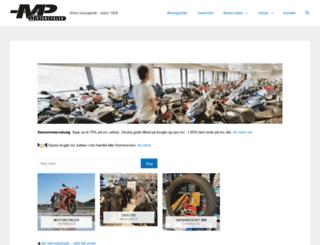 mp-motorcykler.dk screenshot