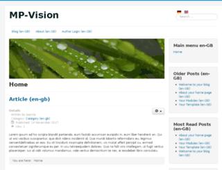 mp-vision.de screenshot
