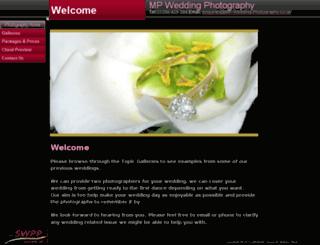 mp-wedding-photography.co.uk screenshot