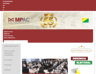 mp.ac.gov.br screenshot