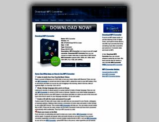 mp3-converter.info screenshot