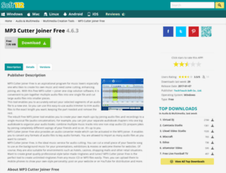 mp3-cutter-joiner-free.soft112.com screenshot