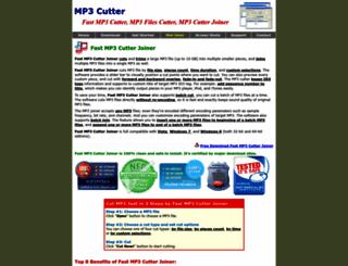 mp3-cutter.net screenshot
