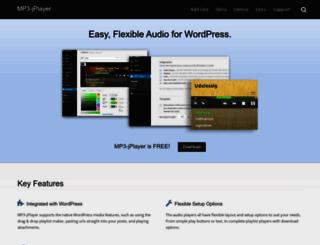 mp3-jplayer.com screenshot