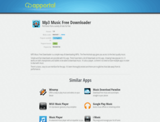 mp3-music-free-downloader.apportal.co screenshot