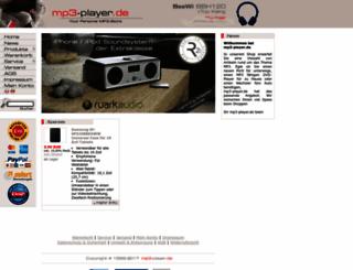 mp3-player.de screenshot
