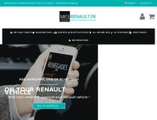 mp3-renault.fr screenshot