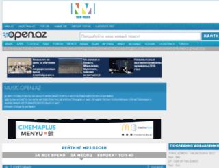 mp3.open.az screenshot