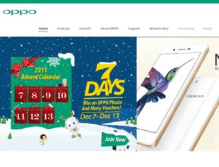 mp3.oppo.com screenshot