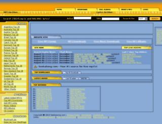 mp3.seekasong.com screenshot