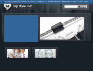 mp3bee.net screenshot