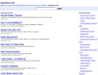mp3clever.net screenshot