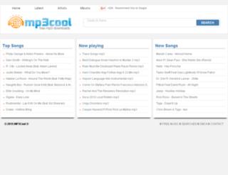 mp3cool.re screenshot