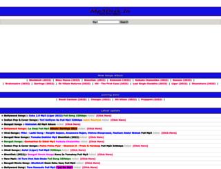 mp3disk.in screenshot