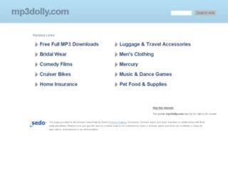 mp3dolly.com screenshot