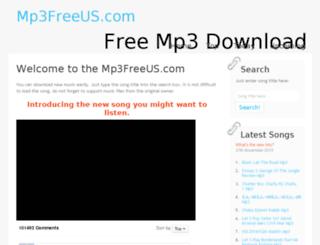 mp3freeus.com screenshot