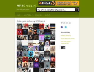 mp3gratis.nl screenshot