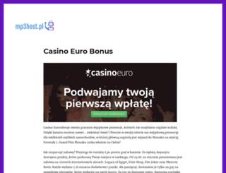 mp3host.pl screenshot