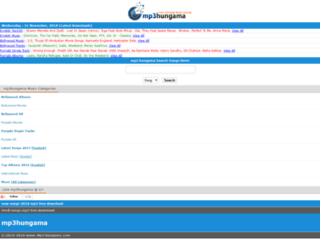 mp3hungama.net.in screenshot