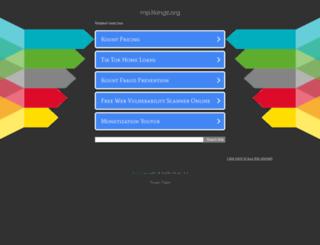 mp3kingz.org screenshot