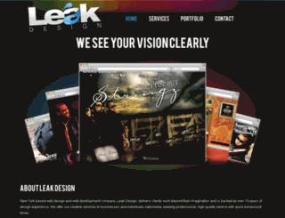 mp3leak.com screenshot