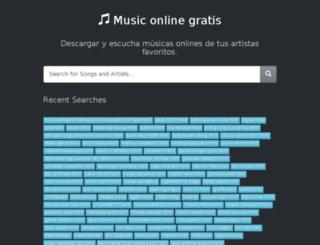 mp3lim.com screenshot
