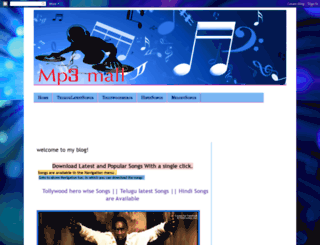 mp3mall.blogspot.com screenshot