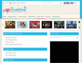 mp3moosic.com screenshot