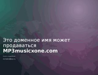 mp3musicxone.com screenshot