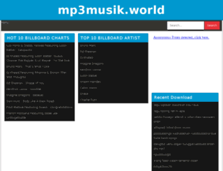mp3musik.world screenshot