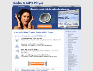 mp3radio.com screenshot