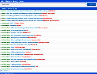 mp3remixsong.com screenshot